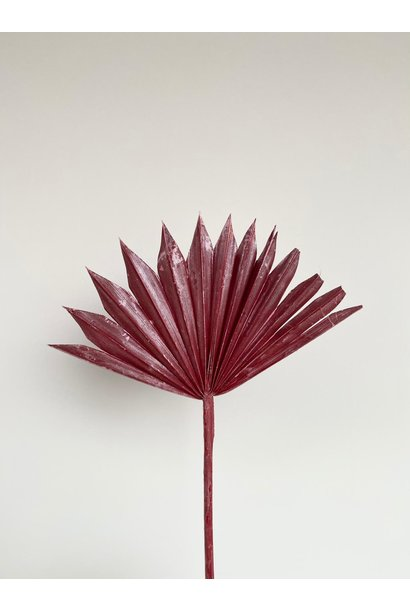 Palmblad Festive Red