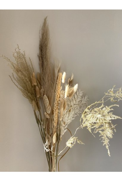 Dry bouquet Natural-Gold