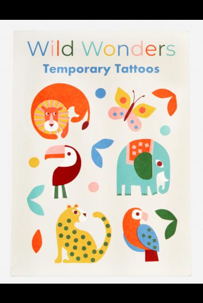 Temporary Tattoos - Wild wonders