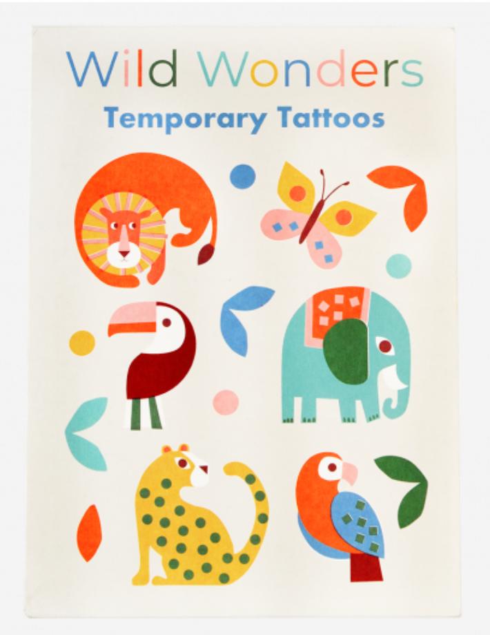 Temporary Tattoos - Wild wonders-1
