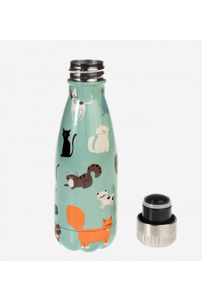 Cats Stainless Steel Bottle