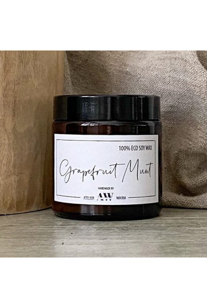 Geurkaars Grapefruit Munt