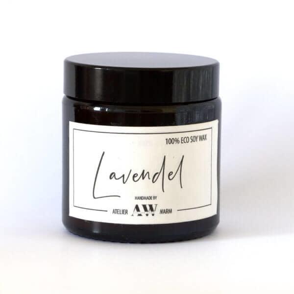 Geurkaars Lavendel - Atelier Warm-1
