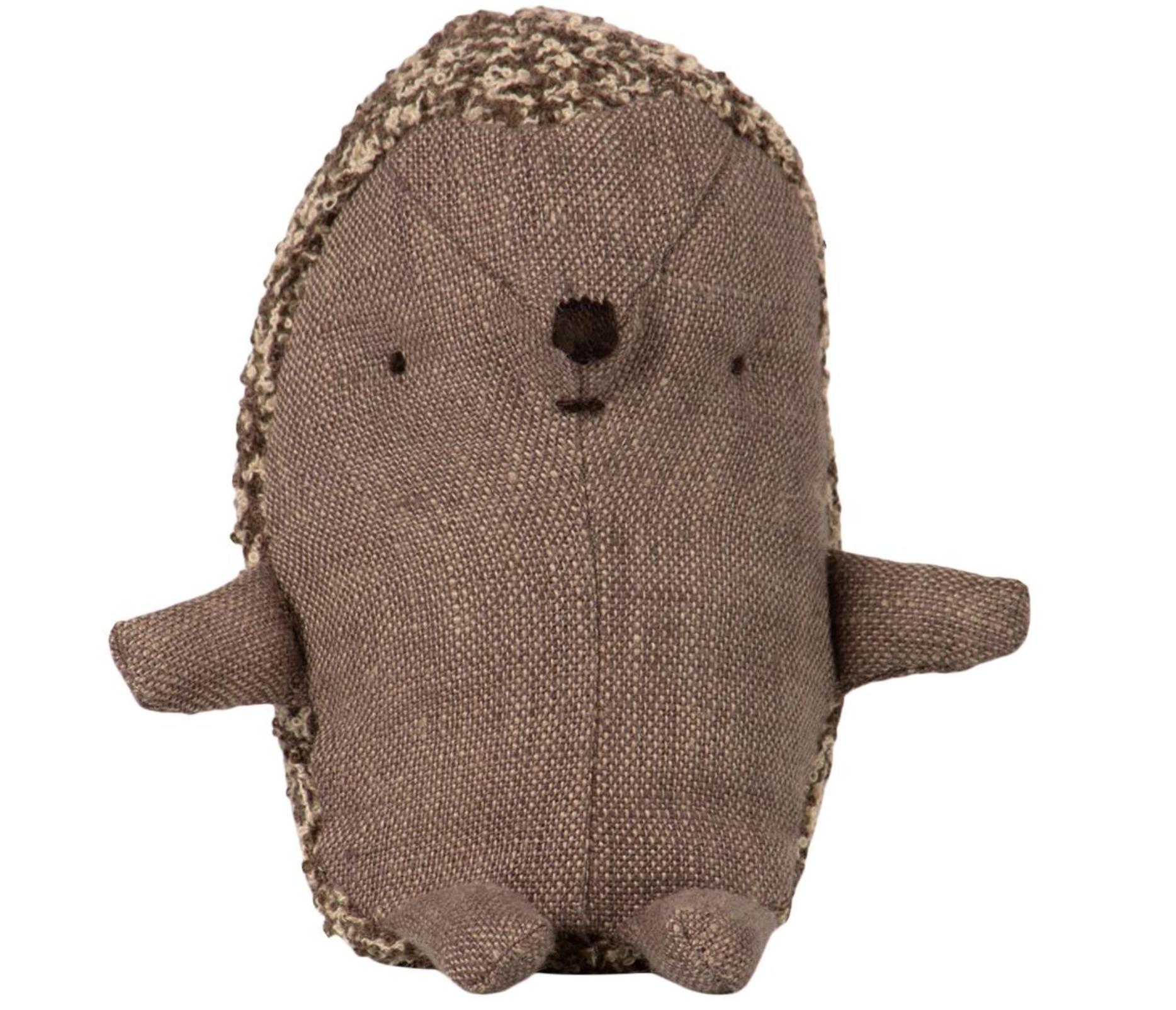 Baby Hedgehog In Leaf-3