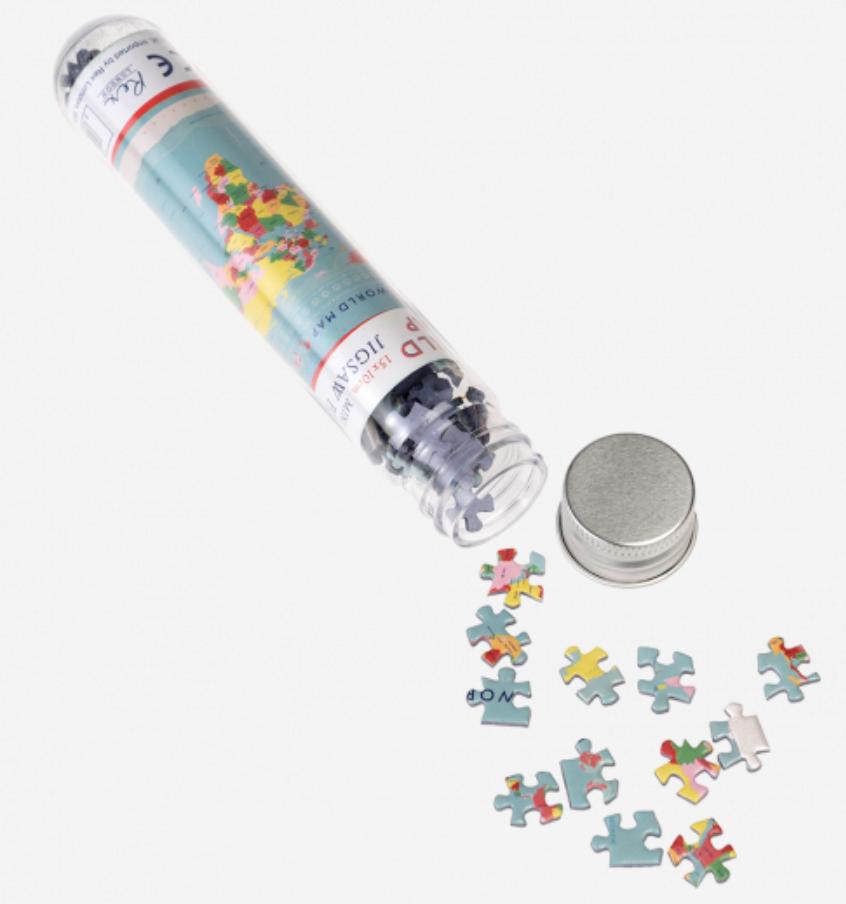 Mini Puzzel Wereldkaart-2