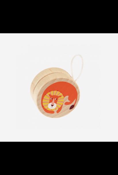 Wooden Yoyo Lion