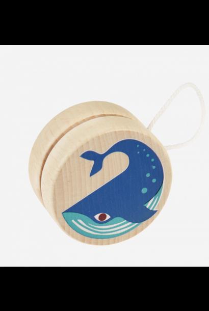 Wooden Yoyo Whale