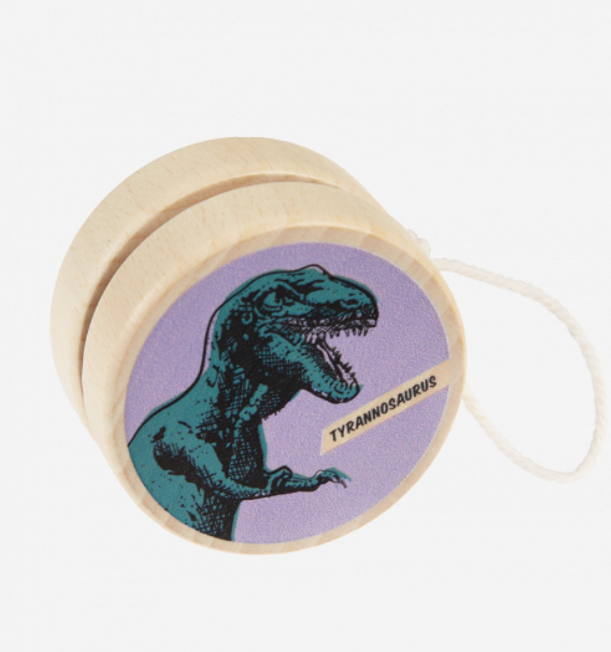 Houten Yoyo Dino-1