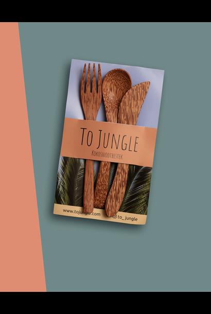 Jungle Coconut Cutlery