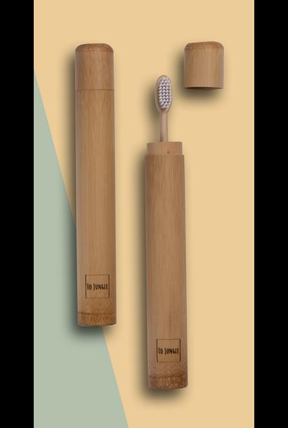Tandenborstel Bamboe Travelbox