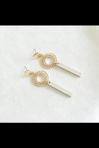 Earrings White - Summer Breeze 02