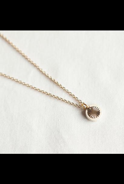 Necklace Beige
