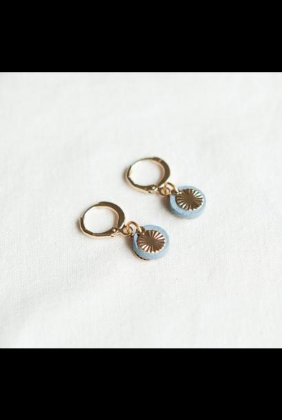 Oorbellen Blauw - Tiny Sweets 02