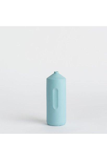 Porseleinen Flesvaas Lichtblauw #2