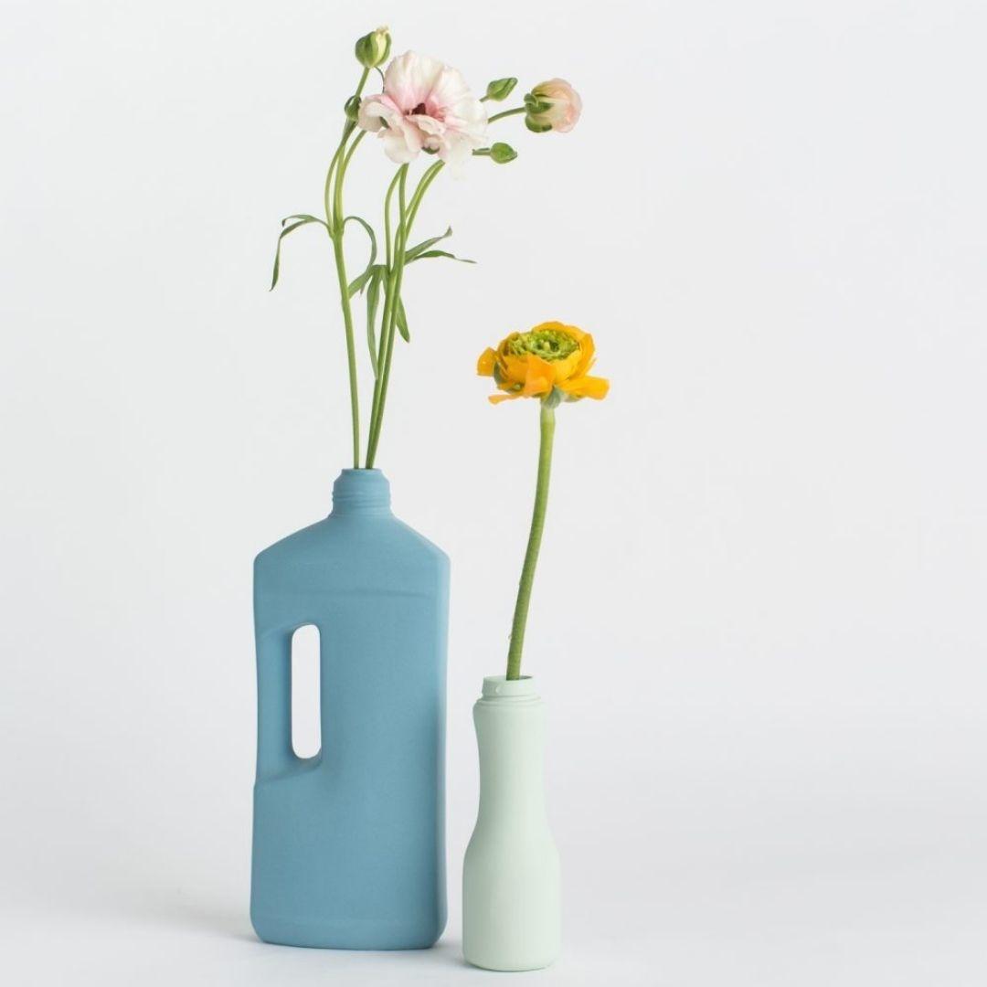 Porseleinen Flesvaas Munt #6 - Foekje Fleur-3