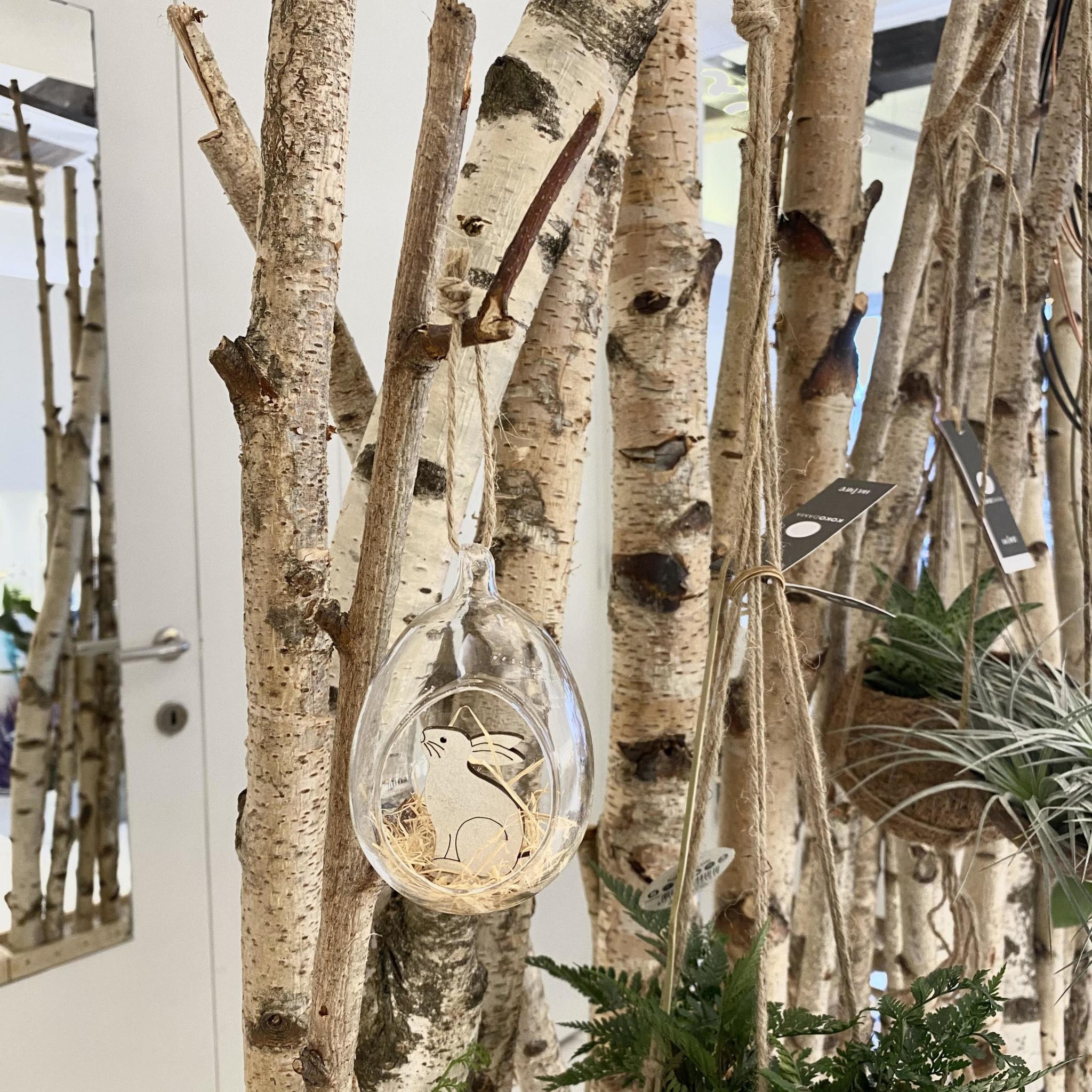 Glazen Hanger met Konijntje - Atelier Olala-2
