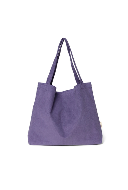 Purple Rain Rib Mom-Bag