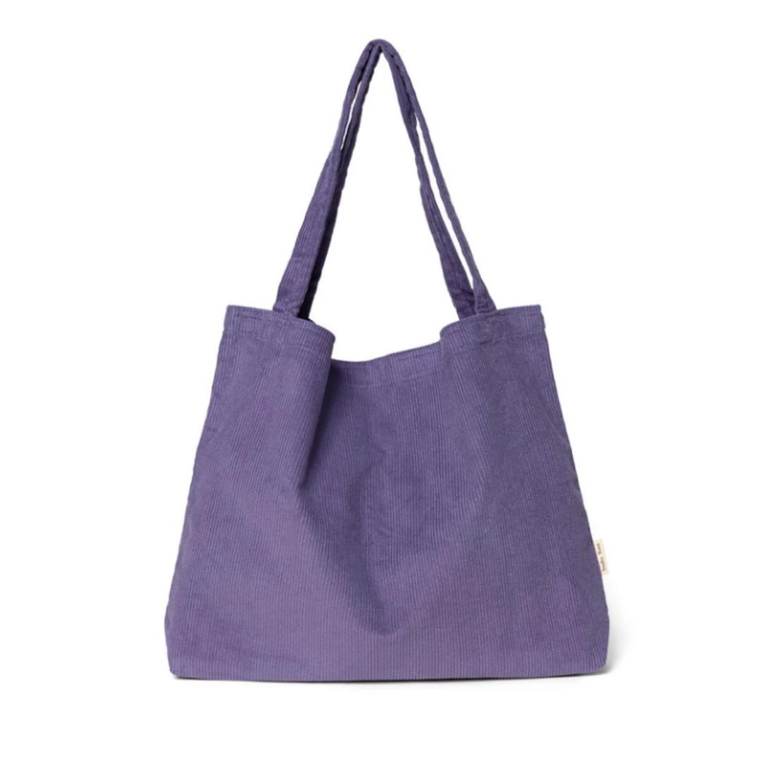 Purple Rain Rib Mom-Bag - Atelier Olala-1