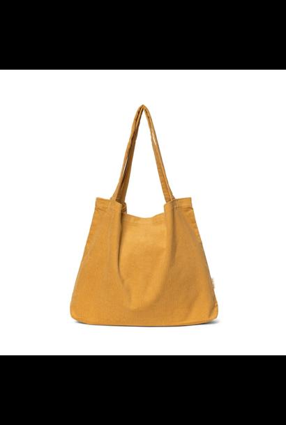 Mustard Rib Mom Bag