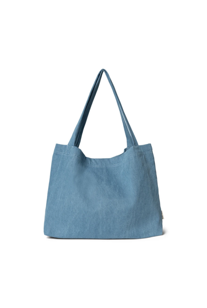 Denim Mom Bag