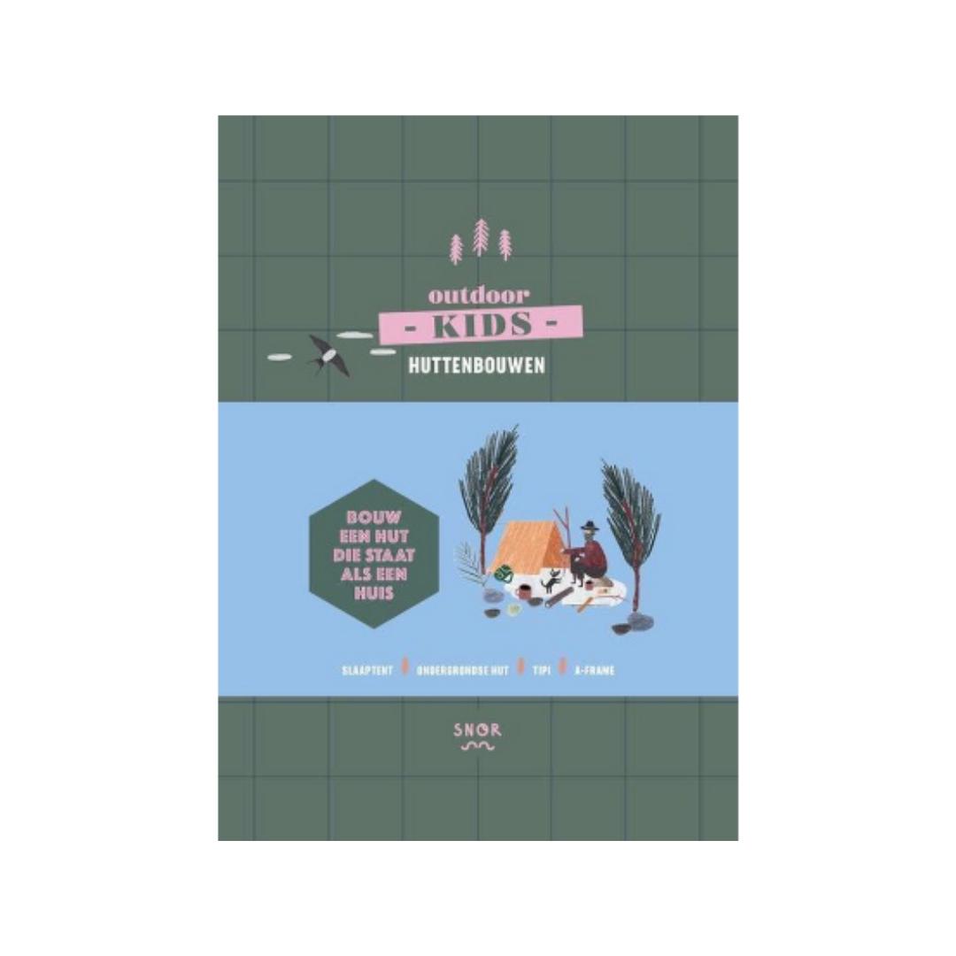 Boek - Outdoor Kids: Huttenbouwen - Snor-1
