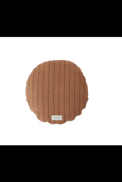 Cushion Caramel Striped