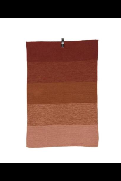 Mini Handdoek - Donker Karamel
