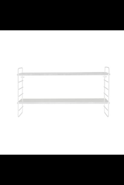 Metal Shelf White