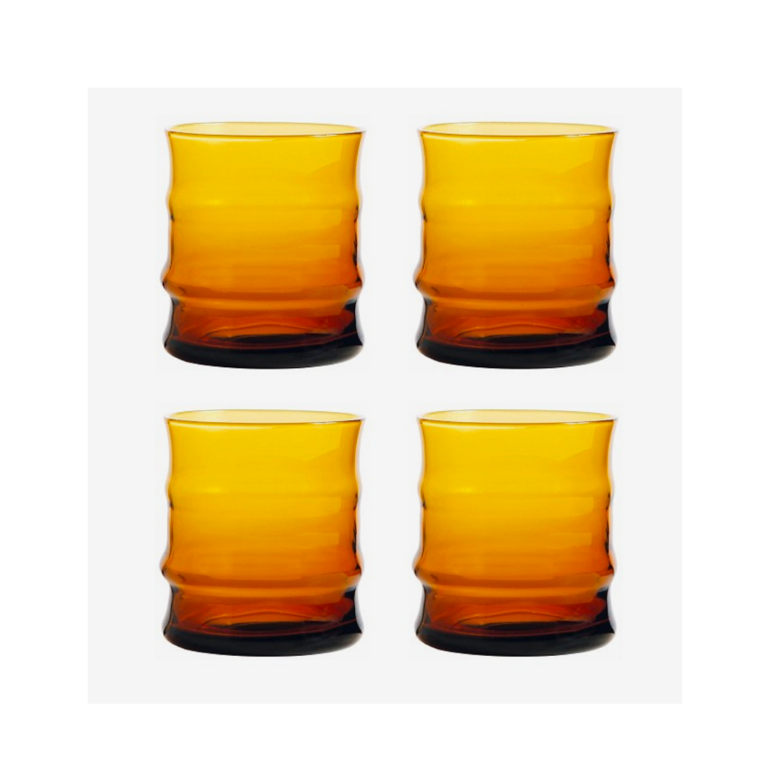 Glas faux bamboo - & Klevering-1