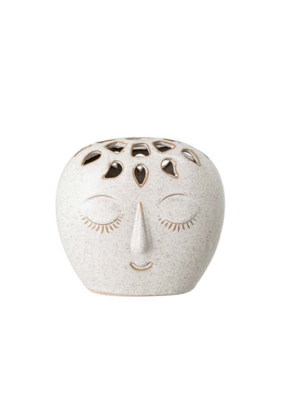 Vase Face Beige