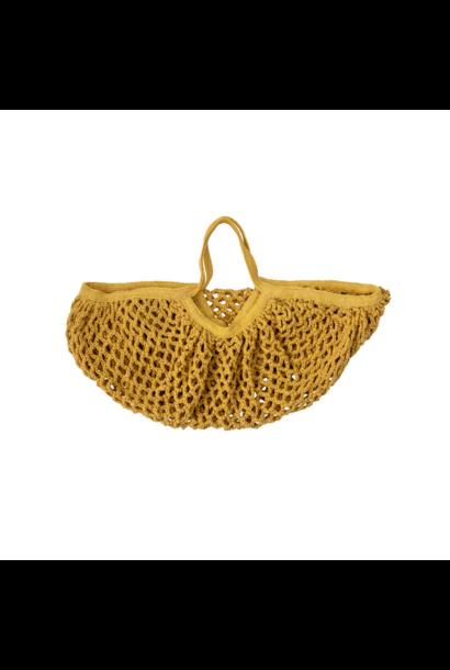 Yellow Fishnet Bag for Kids