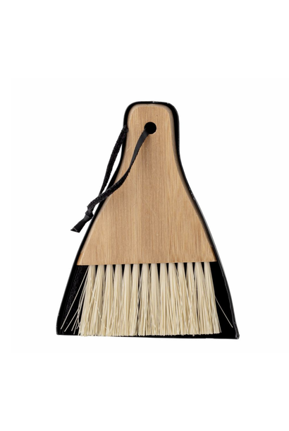 Cleaning Dustpan & Broom Bamboo