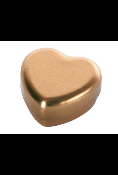 Hartvormig Tandendoosje Goud
