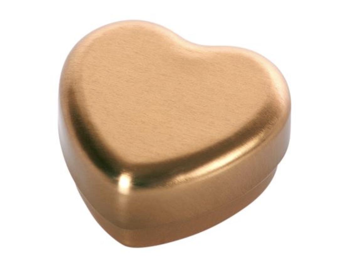 Hartvormig Tandendoosje Goud-1