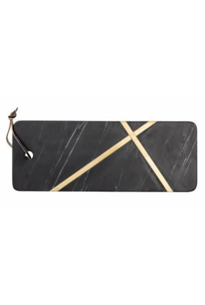 Cutting board Marble Black