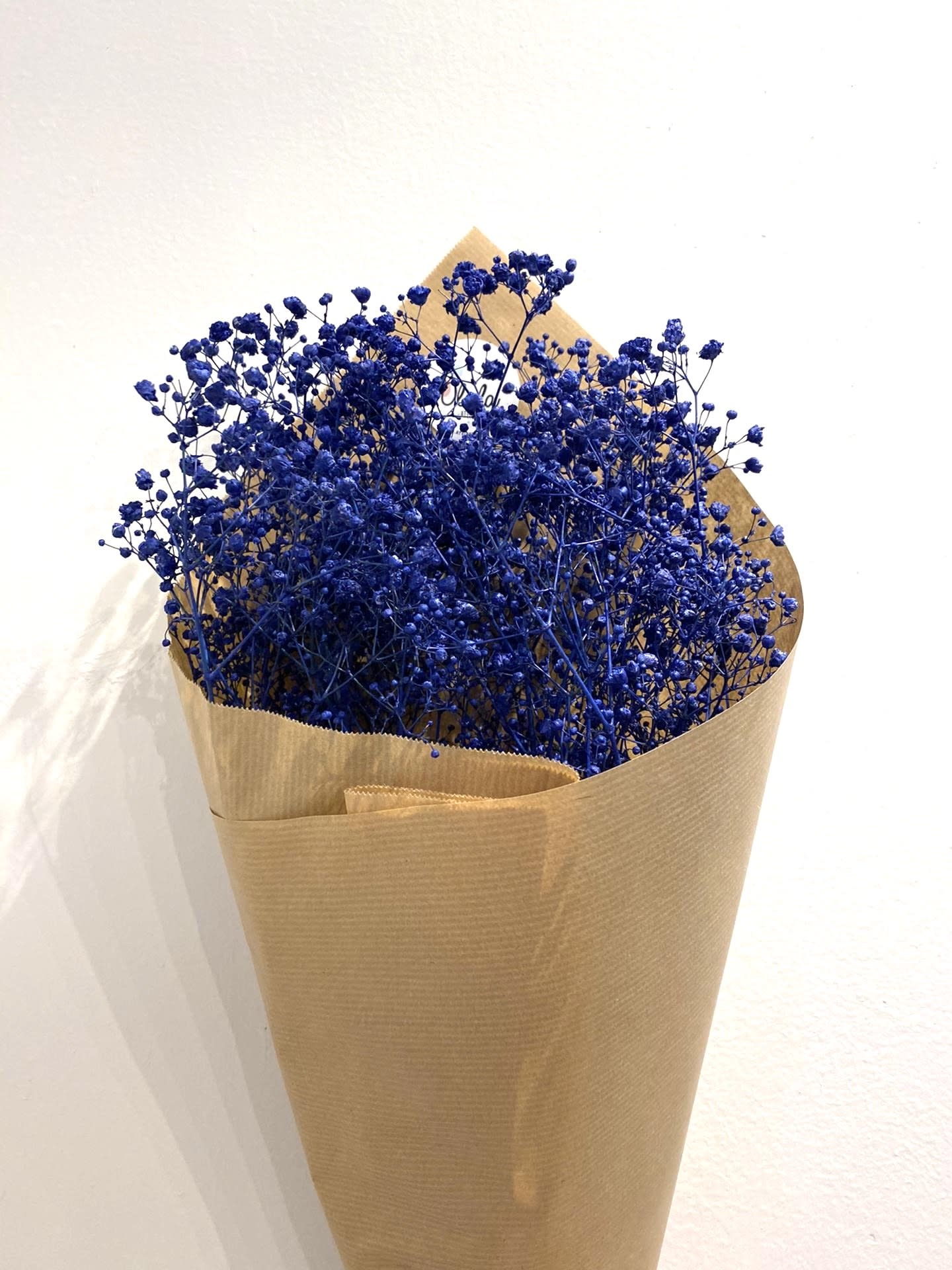 Droogboeket Gipskruid Donkerblauw-1