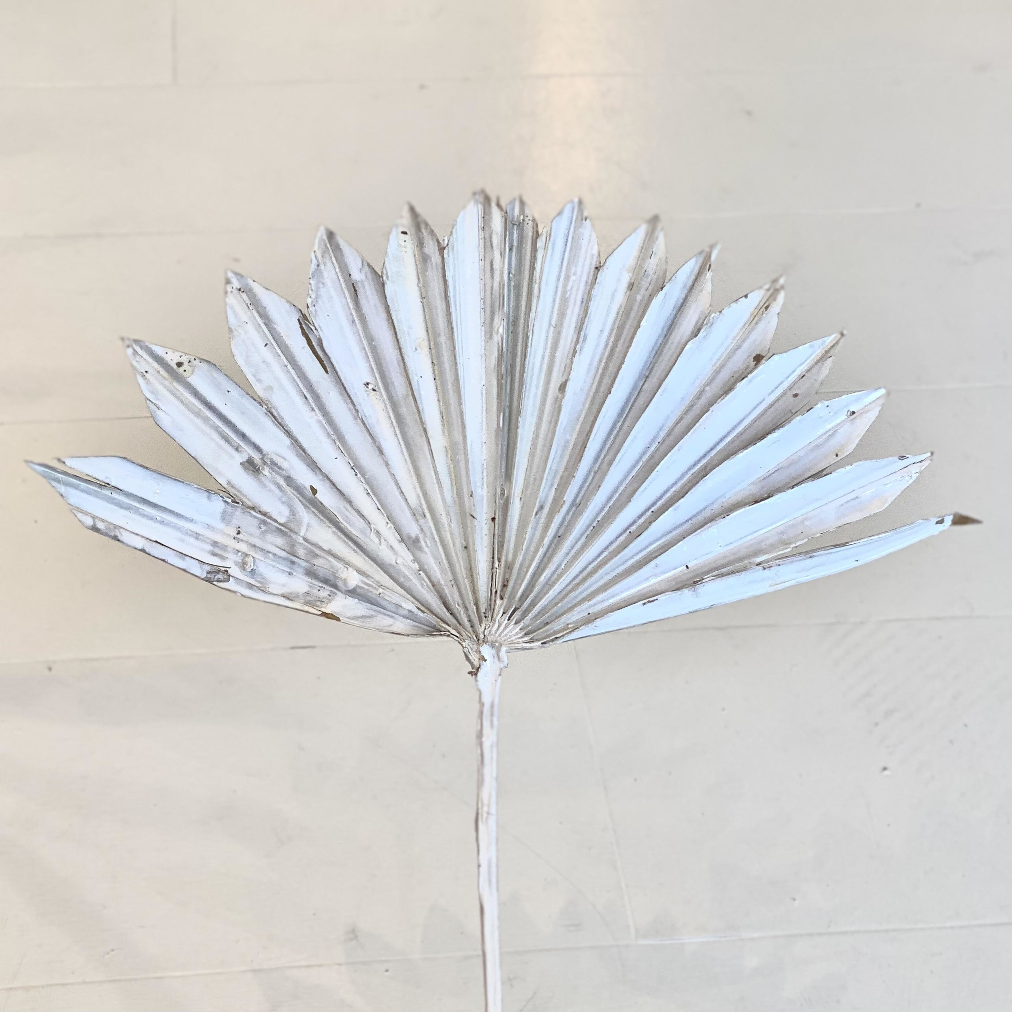 Flowerbar - Palmblad Gebleekt Wit - Atelier Olala-1