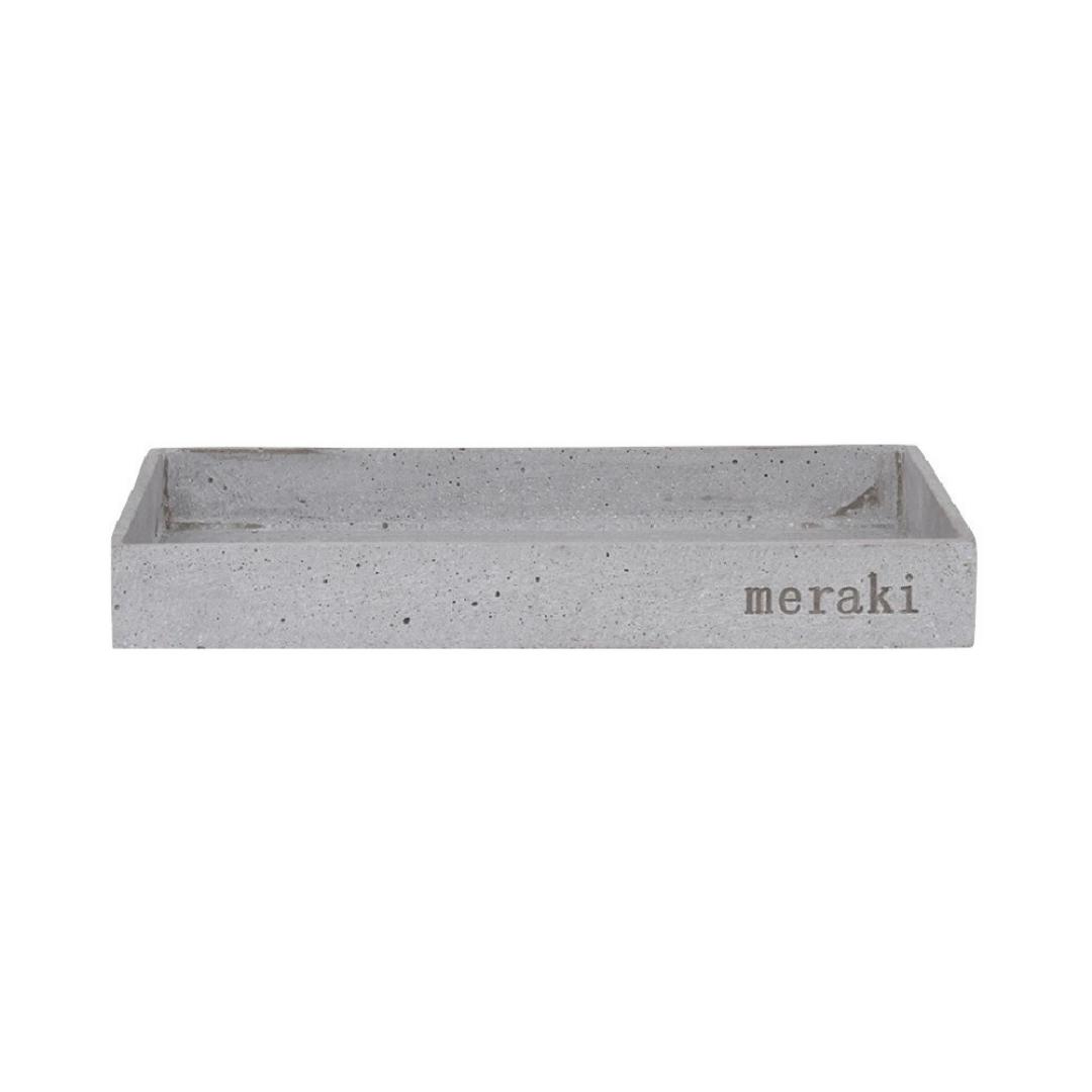 Stenen Dienblad Grijs - Meraki-1