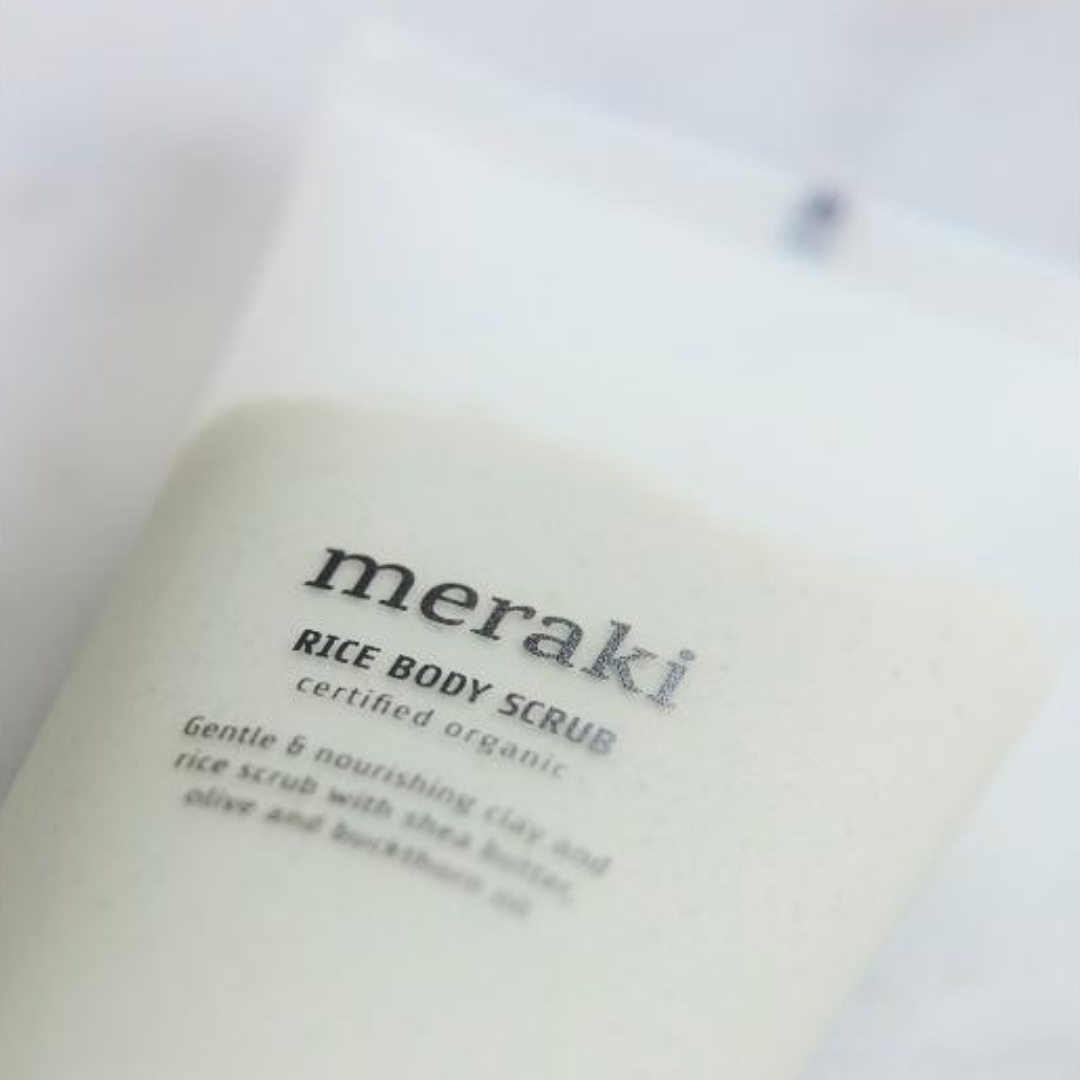 Rijst body scrub - Meraki-2