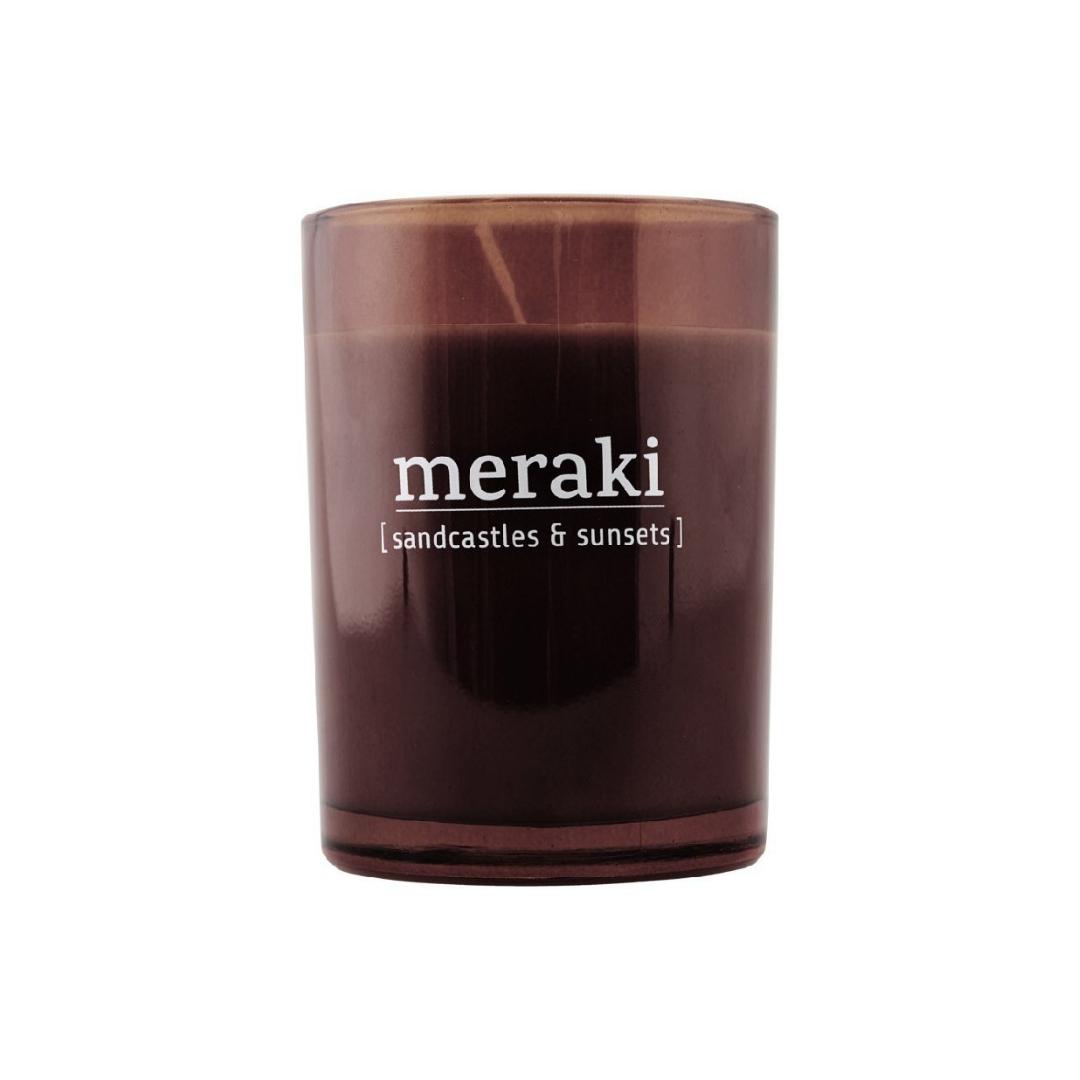 Geurkaars Sandcastles & Sunsets - Meraki-1