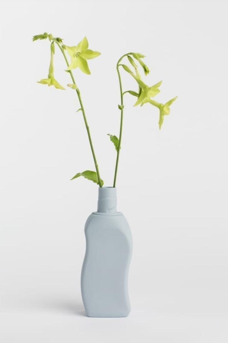 Porseleinen Flesvaas Lavendel #12 - Foekje Fleur-2