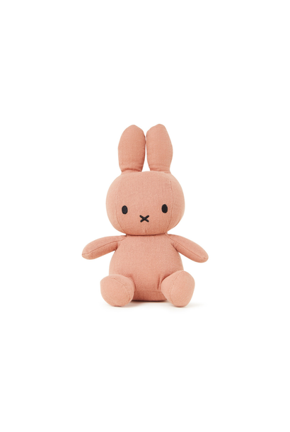 Miffy Cotton Cuddly Toy Dusty Pink