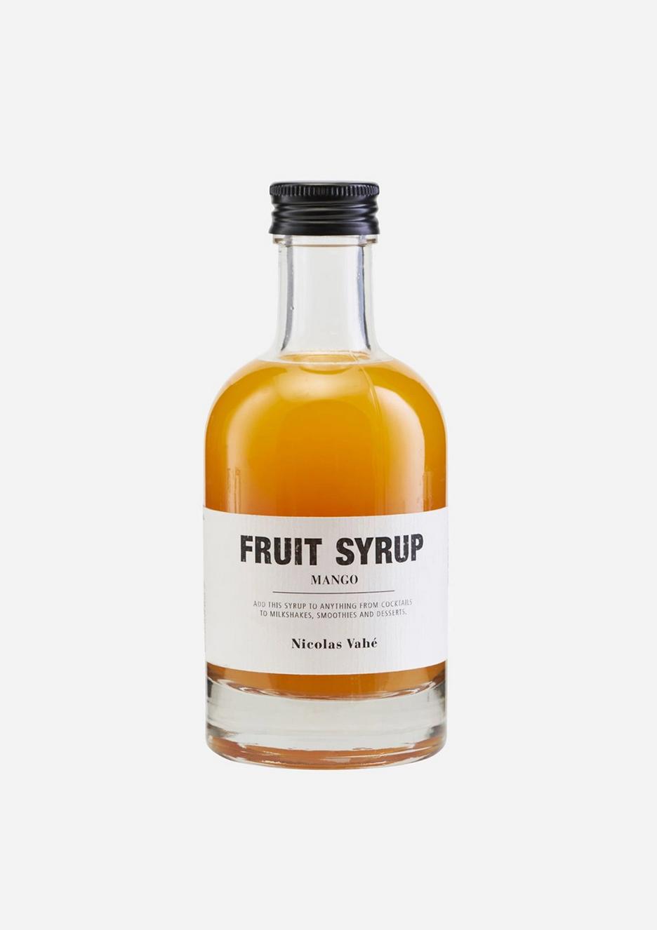 Fruit Siroop Mango - Nicolas Vahé-1