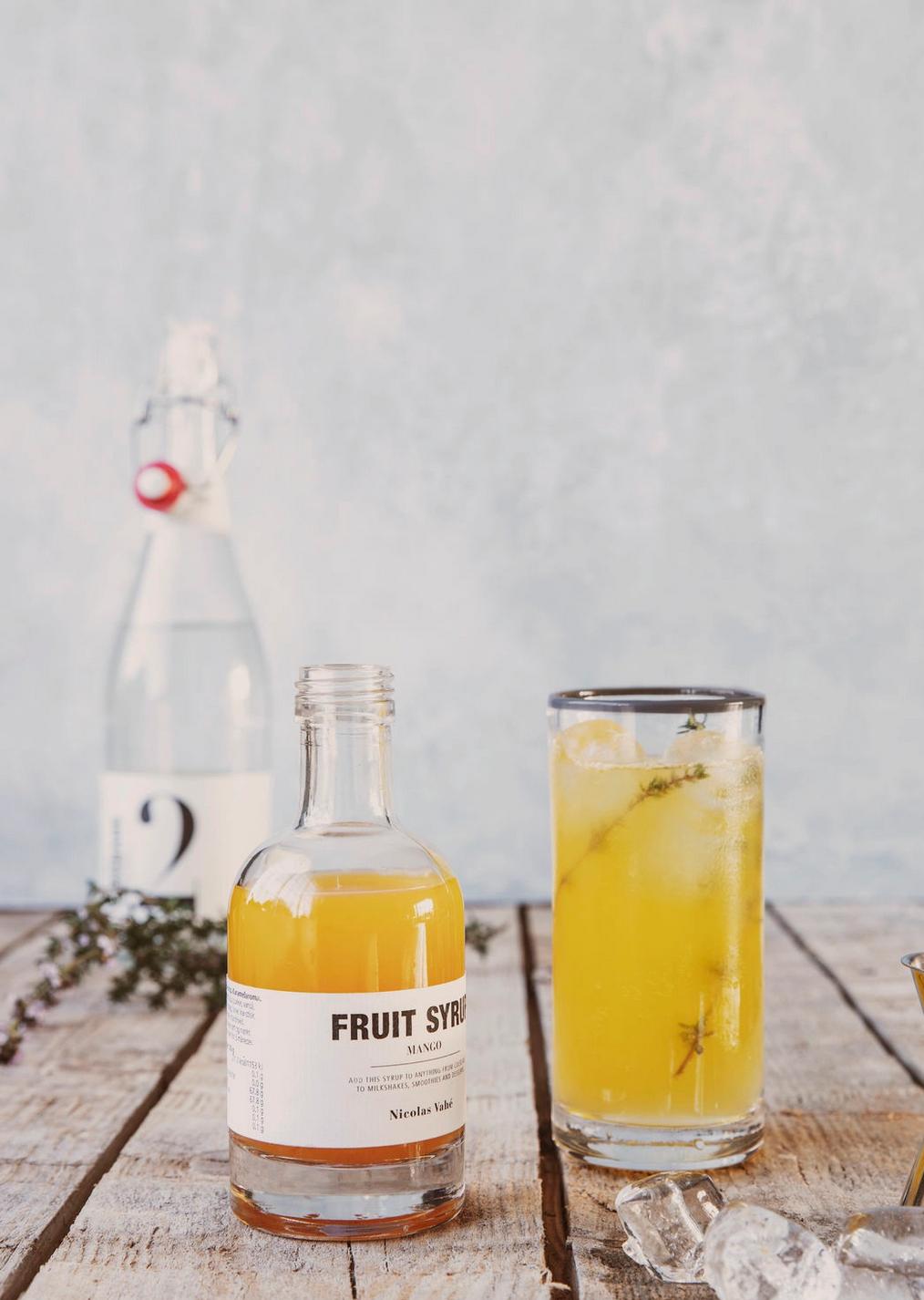 Fruit Siroop Mango - Nicolas Vahé-2
