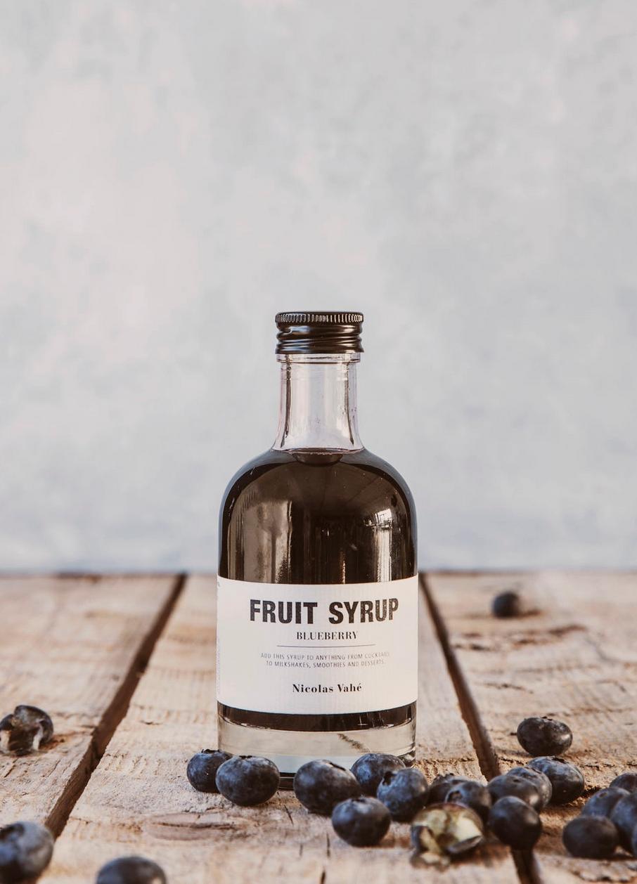 Fruit Siroop Bosbes - Nicolas Vahé-2