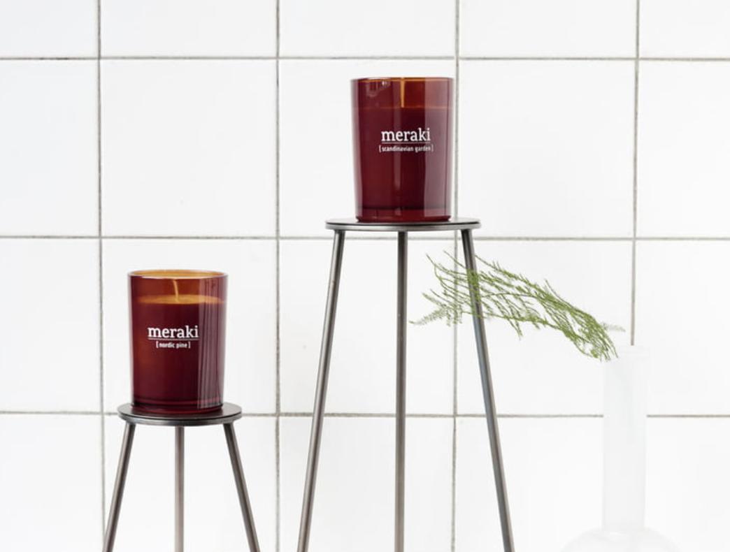 Geurkaars Nordic Pine - Groot - Meraki-3