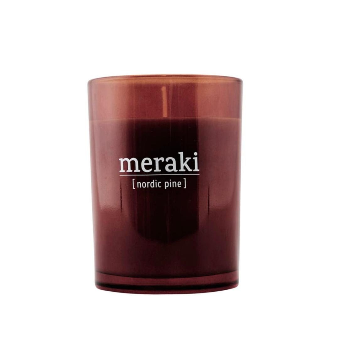 Geurkaars Nordic Pine - Groot - Meraki-1