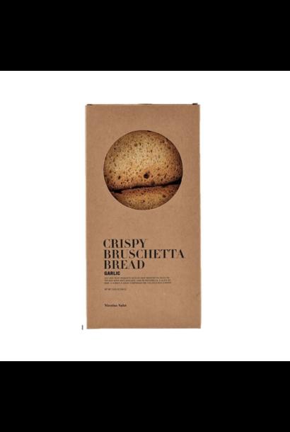 Crusty Bruschetta bread - Garlic