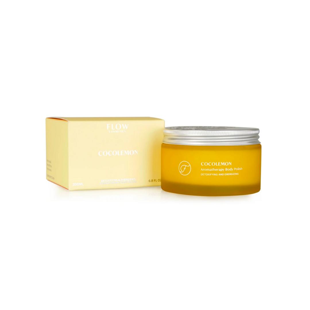 Coco Lemon Aromatherapy Body Polish - Flow Cosmetics-1
