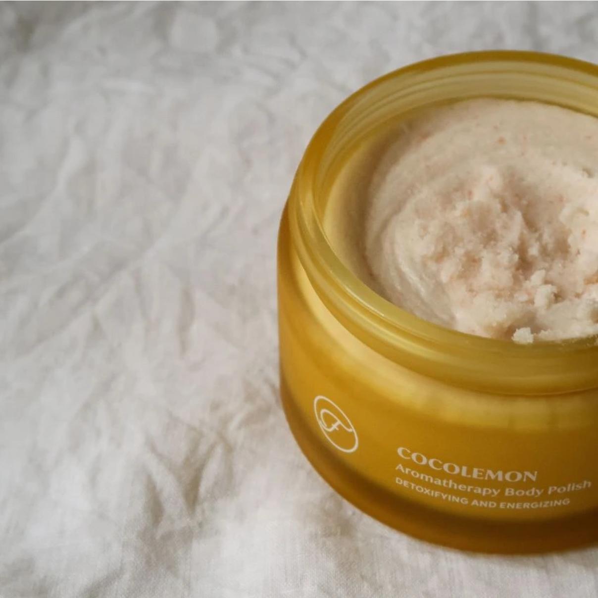 Coco Lemon Aromatherapy Body Polish - Flow Cosmetics-2